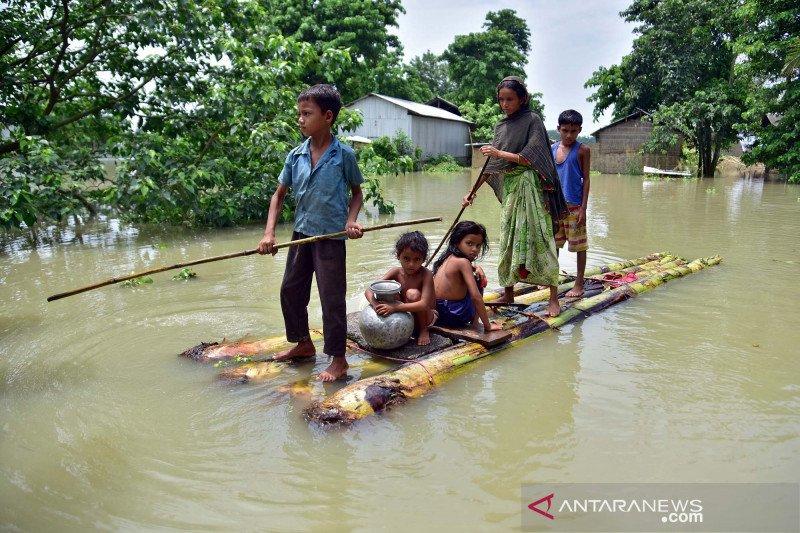 Banjir di pedesaan India