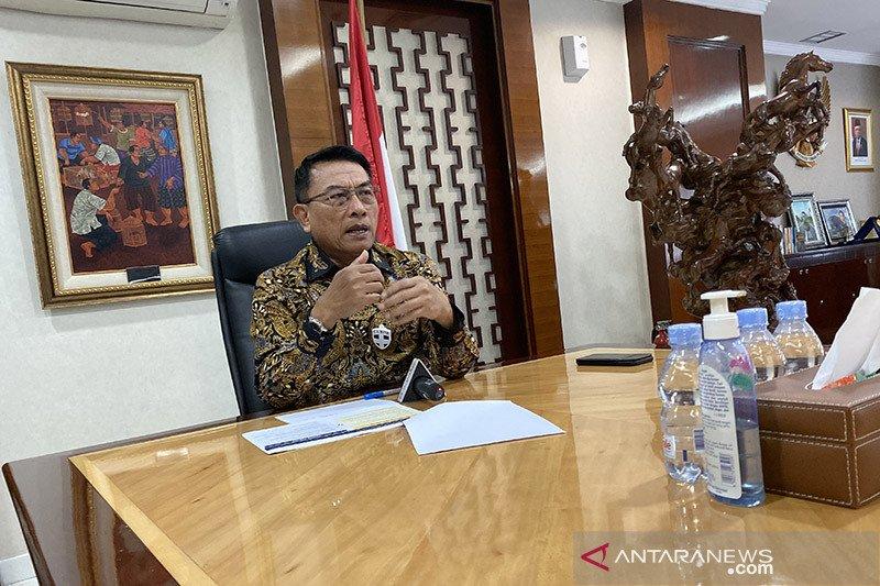 Moeldoko sebut Jokowi sudah tiga kali tegur keras para menteri