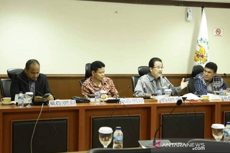 DPD tetap tolak Pilkada 2020 dalam raker dengan KPU dan Bawaslu RI
