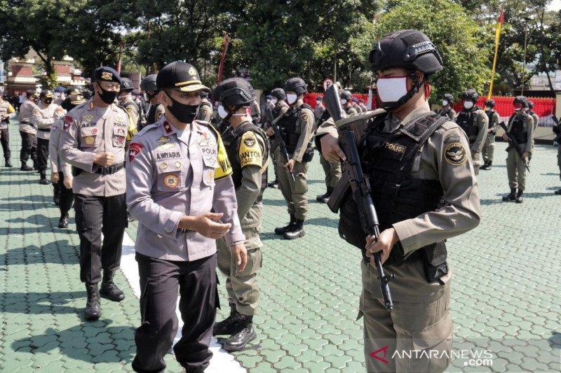 Polda Jawa Barat terjunkan 96 personel Brimob ke Papua