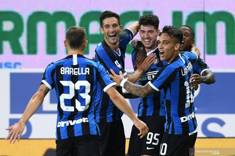 Liga Italia:  Inter kalahkan Parma 2-1
