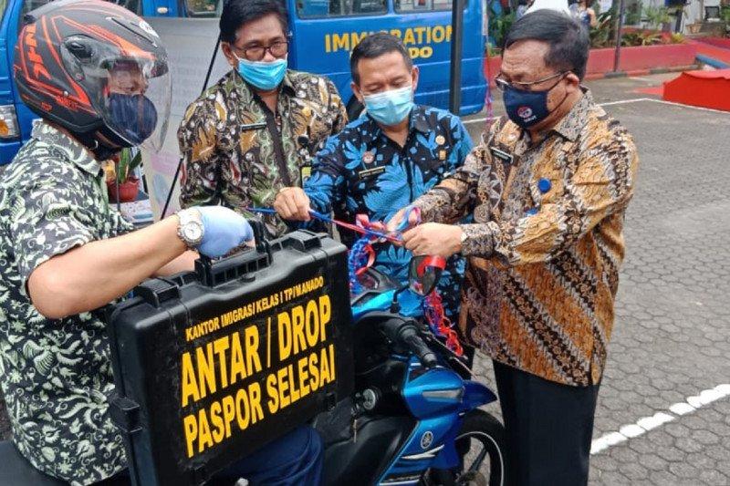 Imigrasi Manado lakukan inovasi layanan antar paspor