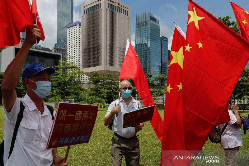 Sah! Parlemen China loloskan Undang-Undang Keamanan Nasional untuk Hong Kong