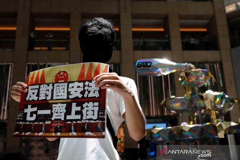 Kepolisian Hong Kong tangkap terduga penyerang polisi di bandara