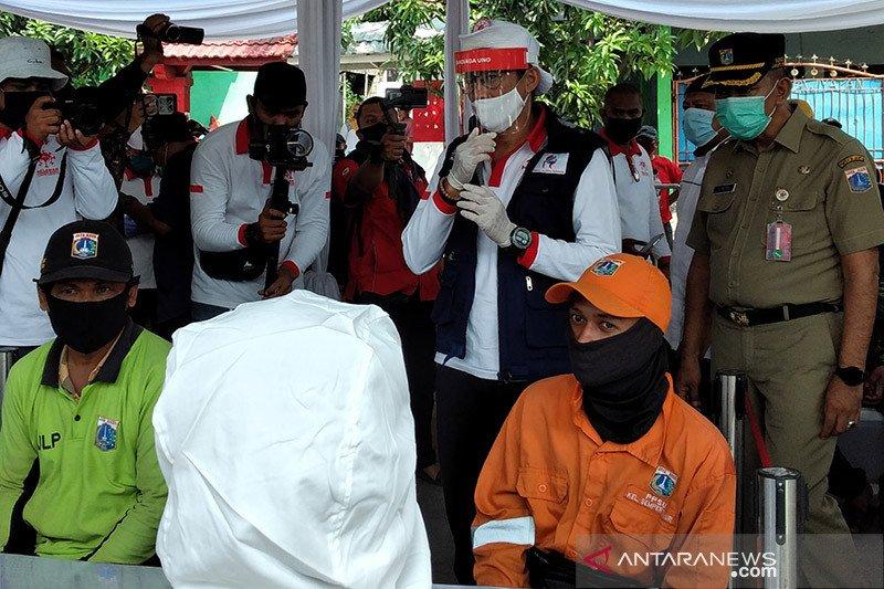 RIB selenggarakan uji rapid dan swab bagi seribu warga Cilincing