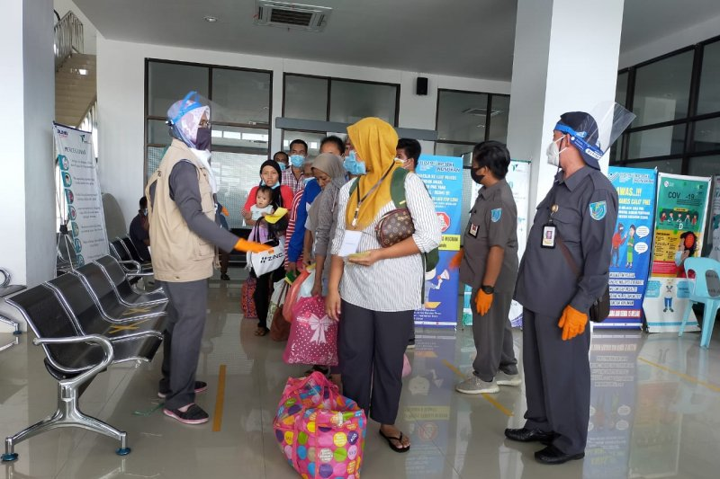 408 TKI deportasi tiba di Nunukan saat masih pandemi COVID-19