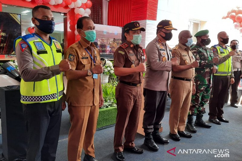 Normal baru, Ditlantas Polda Papua Barat