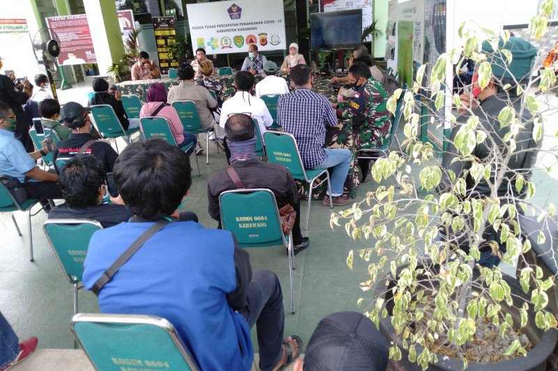 23 orang positif COVID-19 di Karawang dinyatakan sembuh