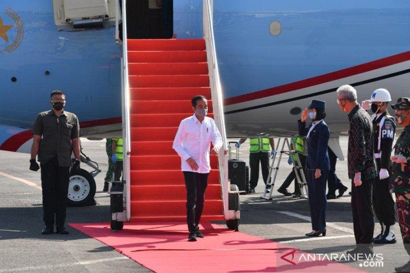 Presiden kembali kunjungi daerah untuk cek penanganan COVID-19