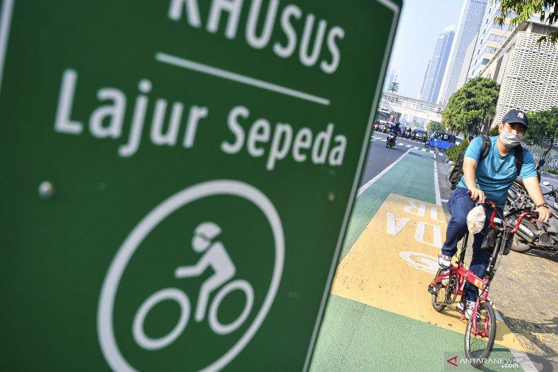 Sepeda kian banyak, Bandar Lampung bikin jalur khusus sepanjang 2,5 km