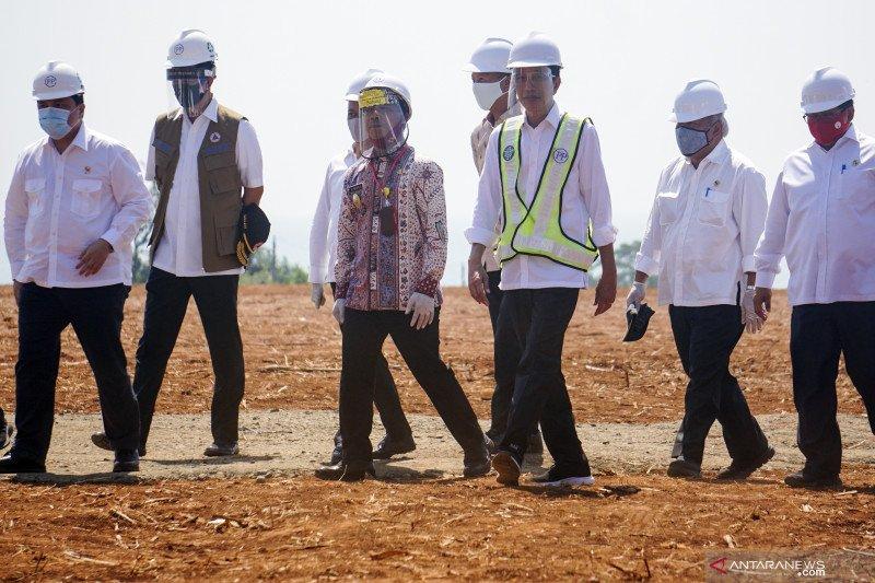 Setahun Jokowi-Ma'ruf, banyak aksi demi gaet relokasi investasi