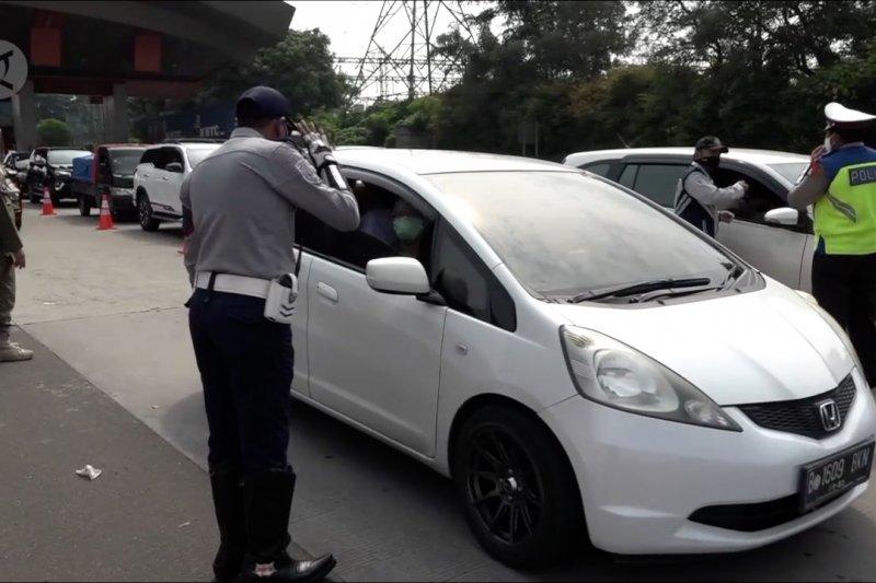 Hampir 66 ribu kendaraan di di Jabodetabek diputarbalikkan