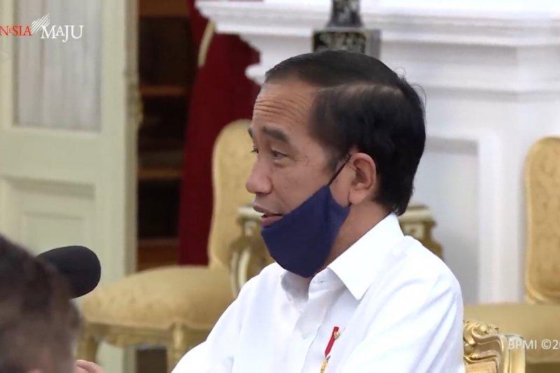 Presiden bahas penanganan COVID-19 bersama tokoh lintas agama