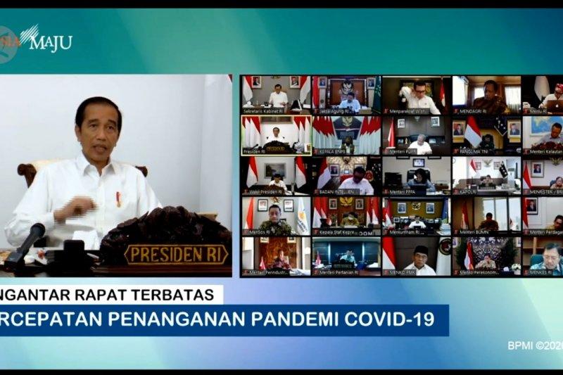 Presiden perintahkan telusuri COVID-19 dengan teknologi komunikasi