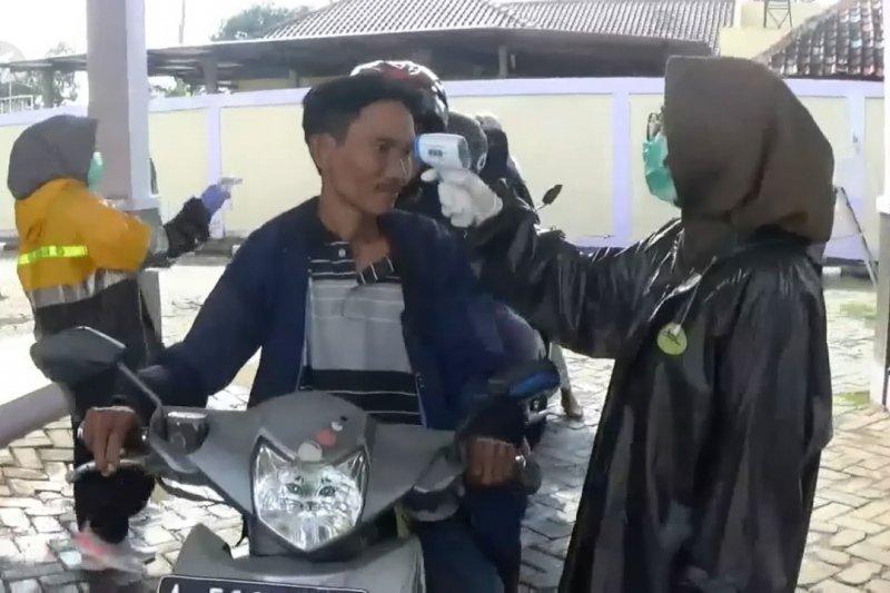 Pengendara tak pakai masker akan diberi sanksi