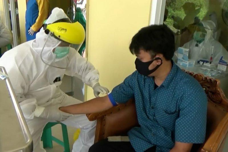 KPU Pandeglang gelar rapid test untuk anggota PPK dan PPS
