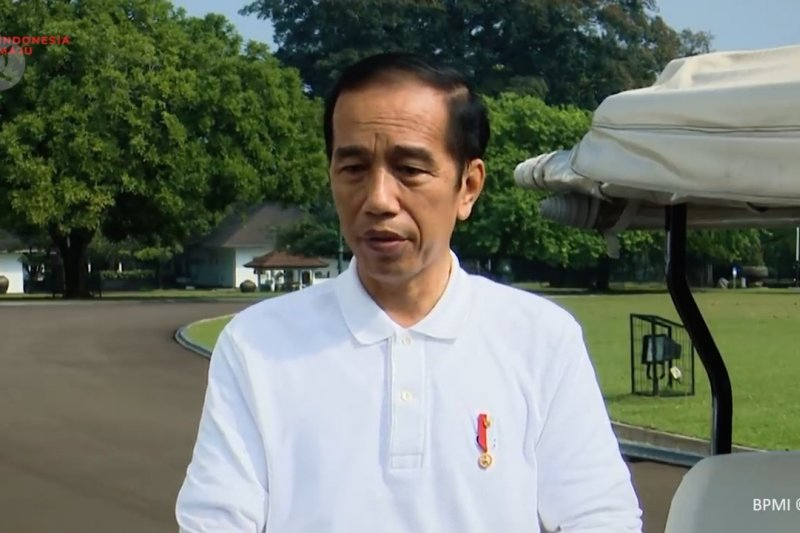 Presiden sampaikan duka cita wafatnya  Jend.Pramono Edhie