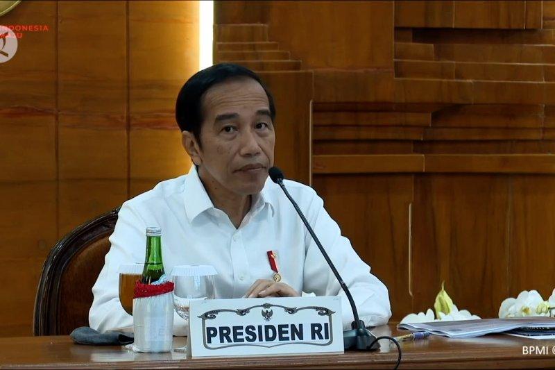 Presiden minta kepala daerah buat kebijakan berdasarkan data sains