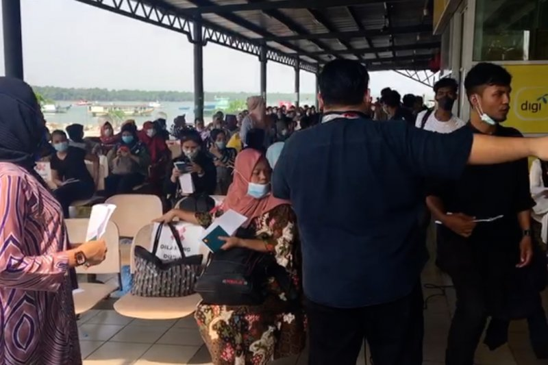 133 pekerja migran ilegal dipulangkan ke Tanjungbalai