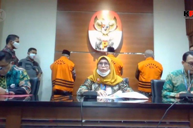KPK tahan tiga mantan anggota DPRD Jambi