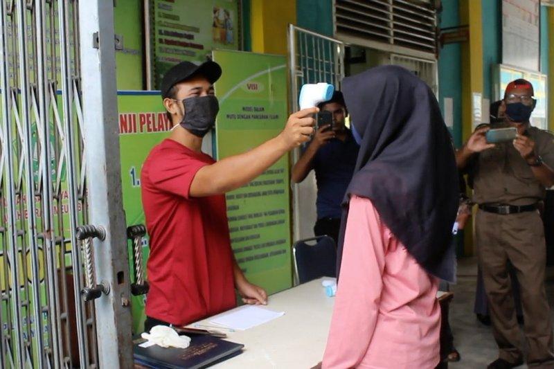 Tanggal 13 Juli sekolah di Aceh Barat dibuka kembali