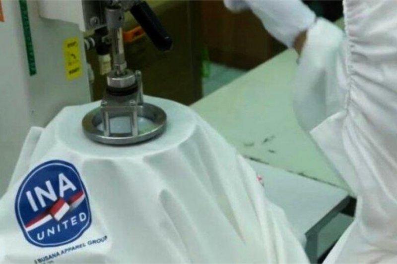 Indonesia siap produksi 17 juta baju hazmat per bulan