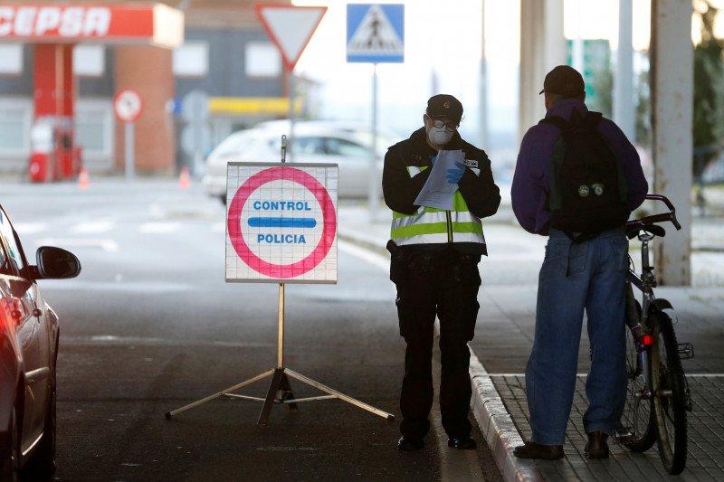 Perbatasan Spanyol-Portugal dibuka lagi setelah tiga bulan ditutup