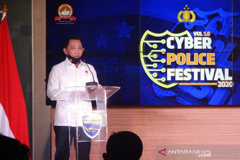 Kabareskrim harap Cyber Police Festival dorong netizen bijak bermedsos