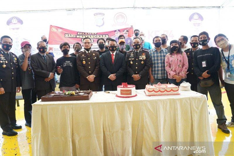 Hari Bhayangkara, Kapolres Jakarta Utara janji tingkatkan pelayanan
