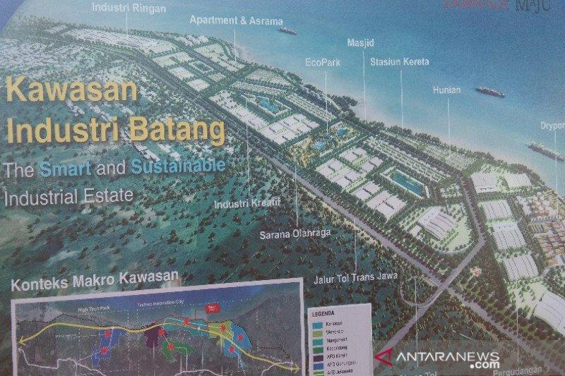 Rencana induk Kawasan industri Batang ditargetkan selesai pekan ini