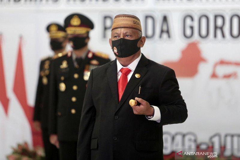 Gubernur Rusli apresiasi kinerja Polda Gorontalo
