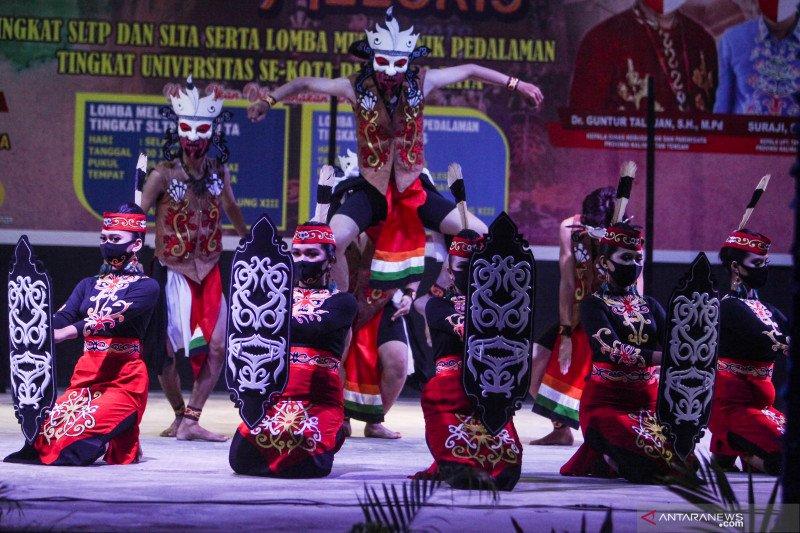 Lomba musik etnik pedalaman Dayak Kalteng
