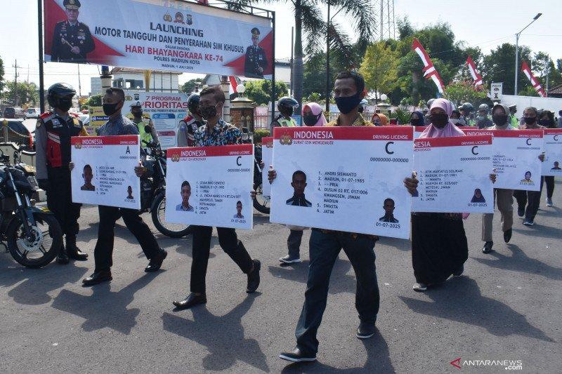Hari Bhayangkara, Polres Madiun luncurkan Motor Tangguh Semeru