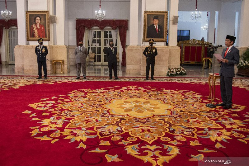 Presiden minta Polri, Kejaksaan, KPK, lembaga pengawas perkuat sinergi