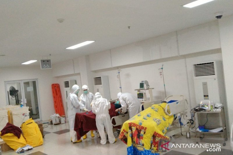 5.294 pasien COVID-19 di Wisma Atlet sembuh
