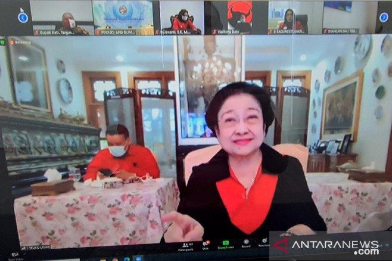 Megawati dorong kepala daerah produksi makanan pendamping beras
