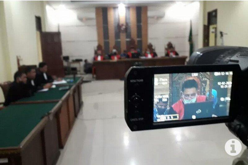 Pengacara: Bupati Lampung Utara nonaktif terima putusan hakim
