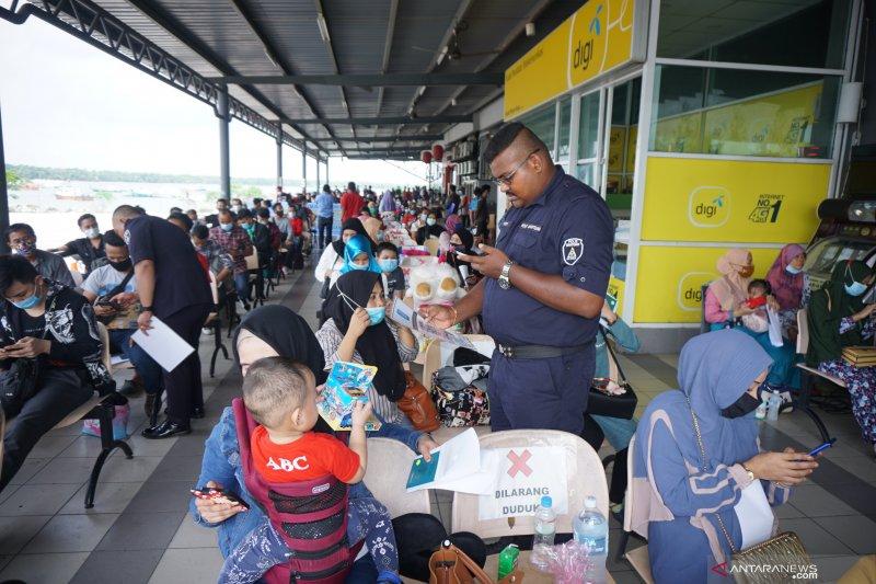 216 pekerja migran ilegal dipulangkan ke Asahan