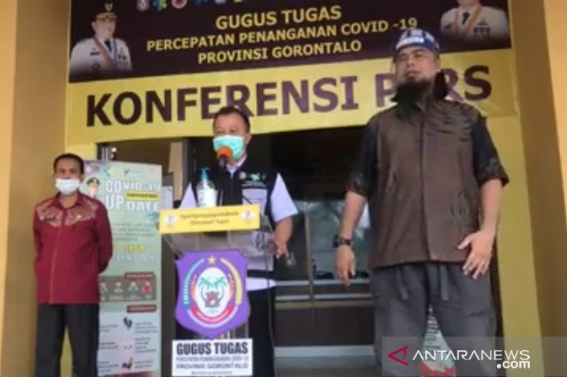 Tujuh kasus baru, positif COVID-19 di Gorontalo naik jadi 256 orang