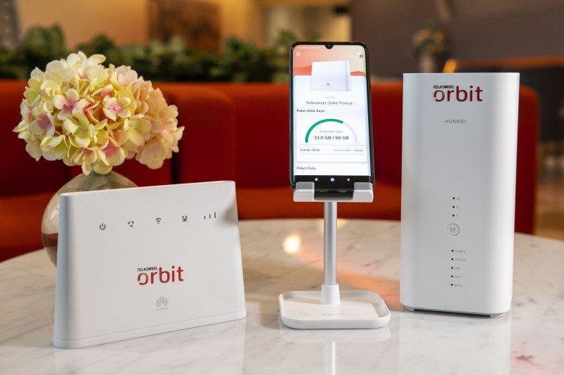 Telkomsel perkenalkan Orbit, solusi internet rumah