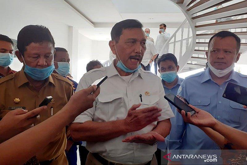 Luhut harap smelter bauksit di Bintan produksi awal 2021