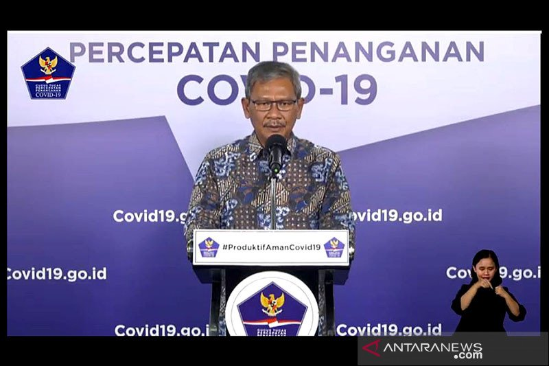 Pasien sembuh dari COVID-19 bertambah 1.072 jadi 26.667 orang