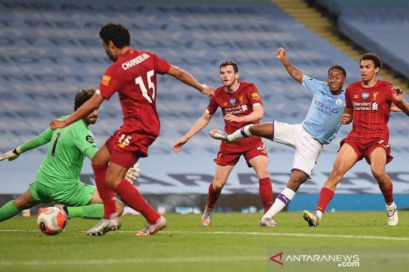 Man City nodai pesta juara Liverpool dengan menang telak di Etihad