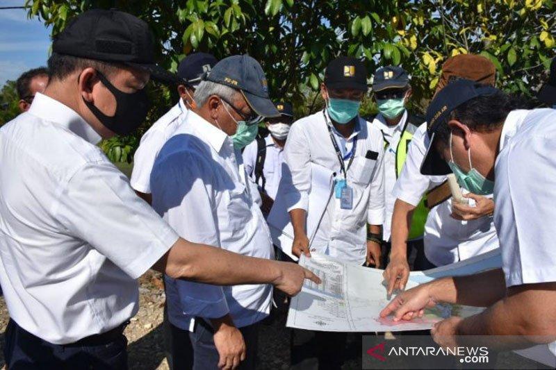 Pemerintah targetkan lumbung pangan di Kalteng selesai tahun 2022
