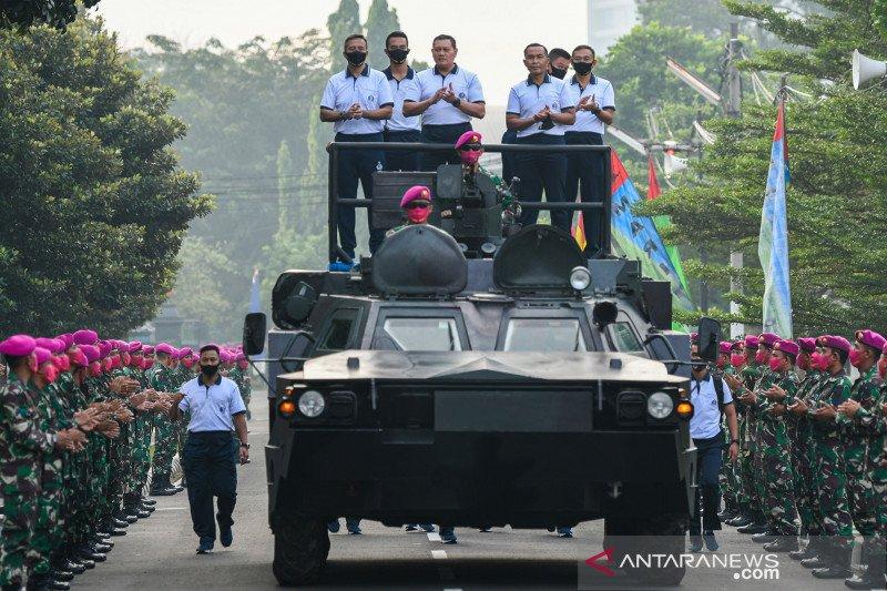Kasal apresiasi dedikasi Korps Marinir