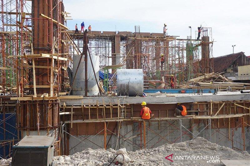 Pembangunan rumah pompa Petekan Surabaya ditarget selesai Desember