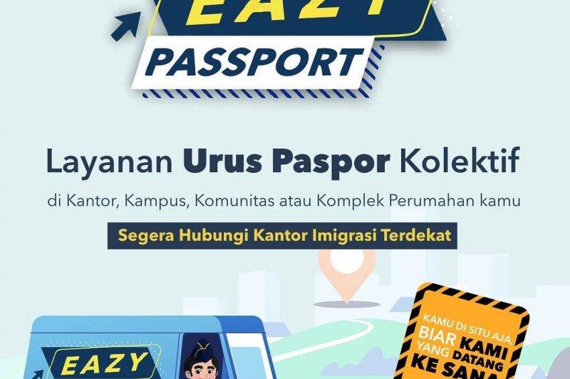 Jemput bola, Imigrasi beri layanan paspor kolektif