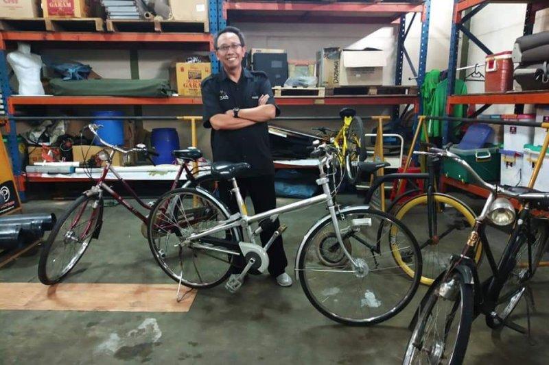 Hibah sepeda untuk warga Jakarta