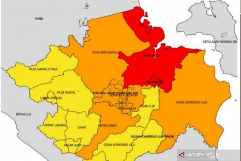 Banyuasin ikuti jejak Palembang jadi zona merah COVID-19