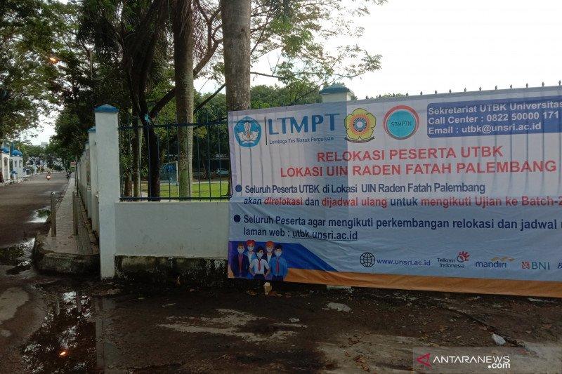 Panitia hentikan UTBK di UIN Raden Fatah Palembang karena COVID-19